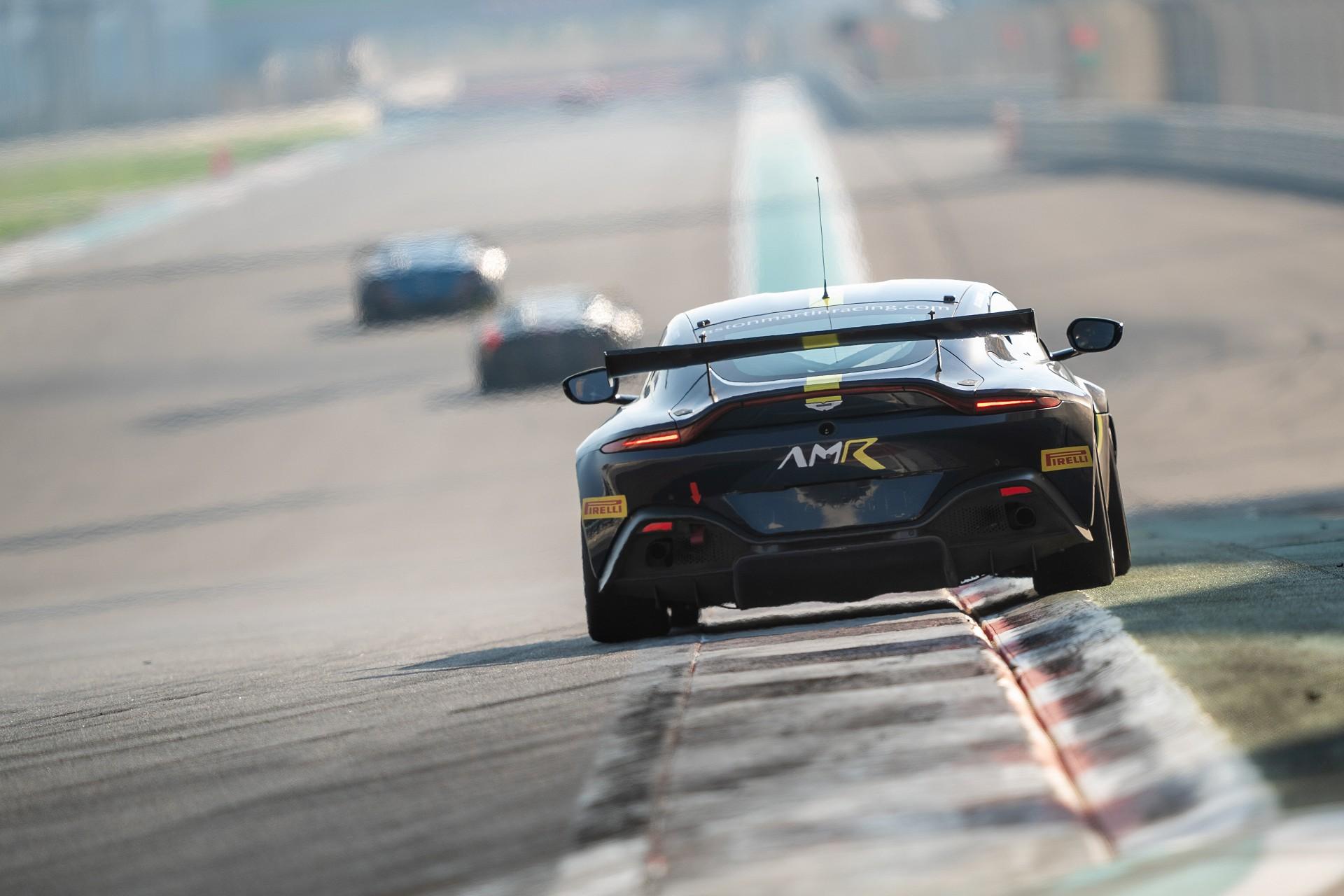 Aston Martin Racing GT4 Wing